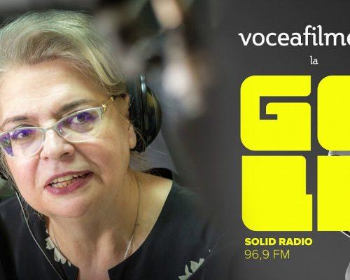 #AscultamVedemCitim VoceaFilmelor la Radio GoldFM cu Irina Margareta Nistor, 20 martie 2020